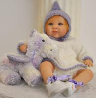 Gaby Jaques Reborn Baby Swiss Darling Gretel 25.5cm LE100